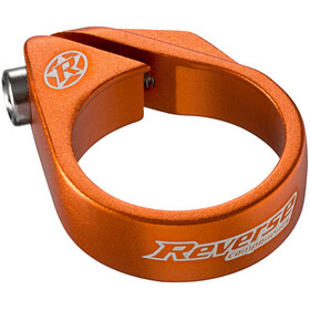 Reverse Bolt Saddle Clamp Ø34,9mm, orange